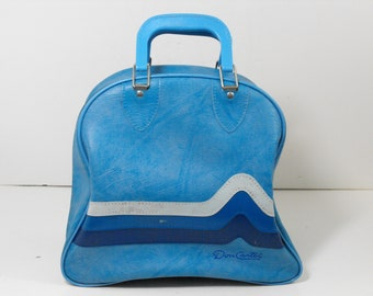 Don Carter Blue Bowling Ball Bag  (1617)