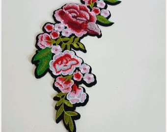 Large fusible / Patch / badge flower