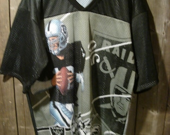 Vintage L.A. RAIDERS CCM all over printed Jersey