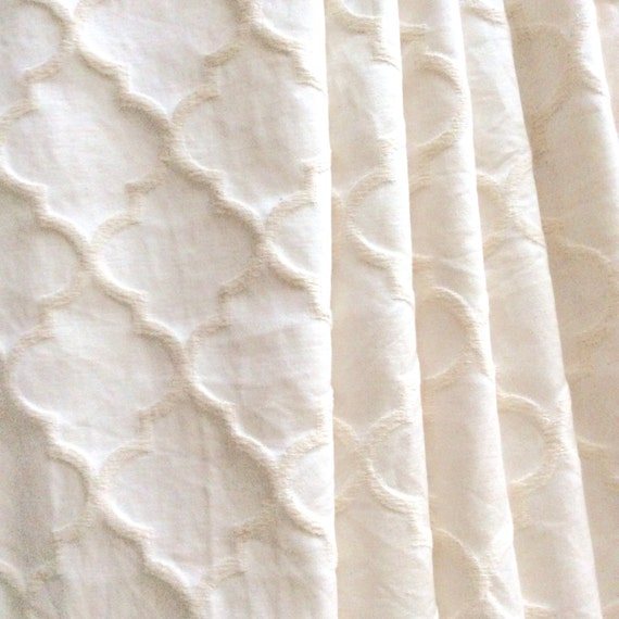 Moroccan Pattern Curtains Printed Window Panels Drapes For Trellis