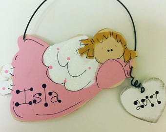 Angel Ornament Personalized