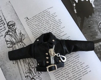 Jacket Blythe /Jacket Pullip /rock'n'roll blythe/gothic blythe /Blythe outfits / Blythe clothing /Doll jacket /Doll outfit /Doll Clothing