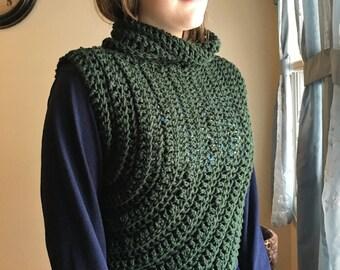 Katniss inspired Cowl -  Crochet pattern