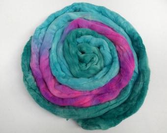 Purple Pop Merino Wool Roving