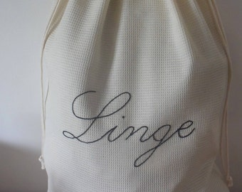Honeycomb laundry bag