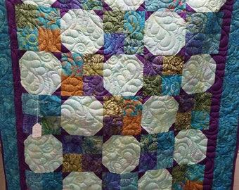 Snowball 4 Patch quilt
