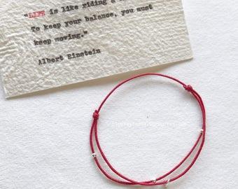 Star Charm Bracelet. Sterling Silver Charm. Friendship Bracelet.