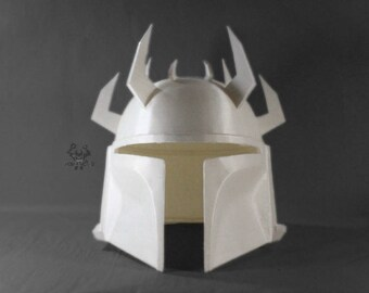 Star Wars Iridonian Mandalorian Helmet Forjadict3d Replica Fan art.