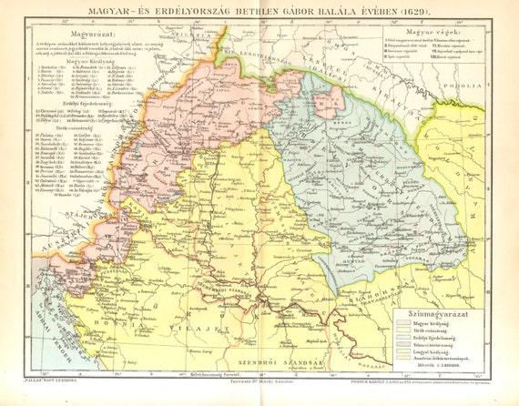 1896 kingdom of hungary principality of transylvania in 1629