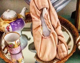 Bloch Blush Ballet Shoes With A Fine Glitter Mist