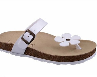 Women's Summer slippers solid color 100% Made in Italy
