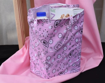 Shopping Bag, Folding Market Bag and Pouch