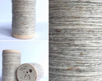 Rustic Moire Wool Thread #116 for Embroidery, Wool Applique and Punch Needle Embroidery