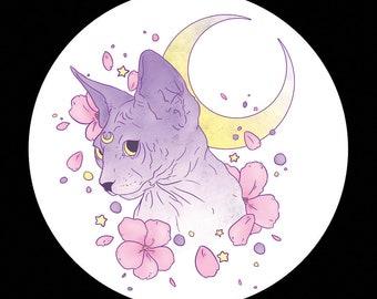 76mm Badge Luna