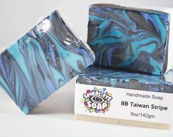BB Taiwan Swirl Slab - Handmade Soap
