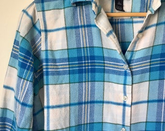 Land's End womens flannel