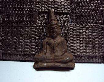 Phra Takadan Old Thai Buddha Amulet Metal Southeast Asia collectible