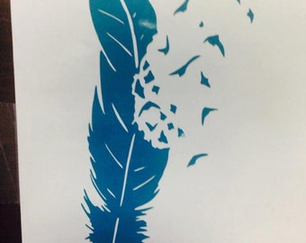 Feather to Birds Decal