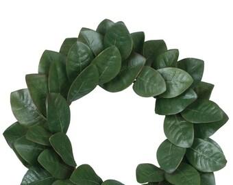 """Magnolia Wreath 20"""""""