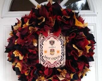 Beer Expert Wreath