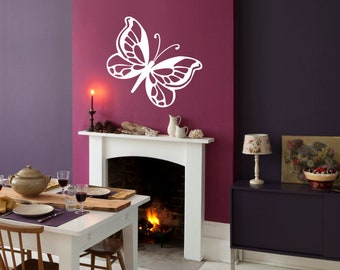 Large Decorative Pretty Butterfly Wall Sticker Decal Adhesive Vinyl Decor Bedroom | G3