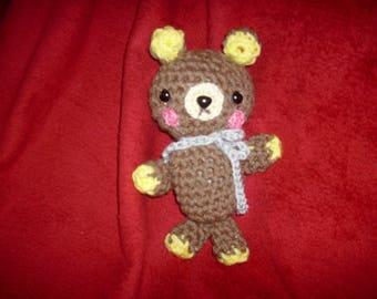 Bear, amigurumi, crochet, Rilakkuma, softie