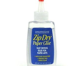 Zip Dry Adhesive - Acid Free