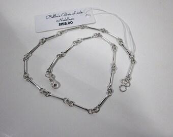 Bar Link Necklace