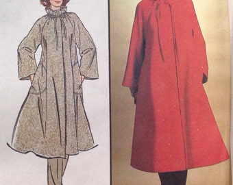 Simplicity 8696 Misses' Coat with or with out hood size 6-8