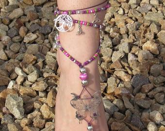 Woodland Fairy Barefoot Sandal