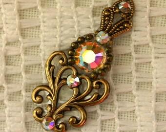 Dream Bindi in Oxidized Brass