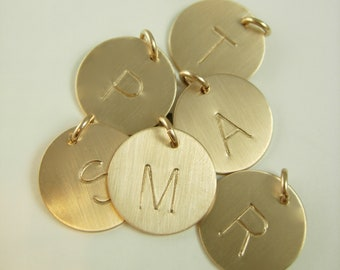 Initial Charm - Gold Initial Charm