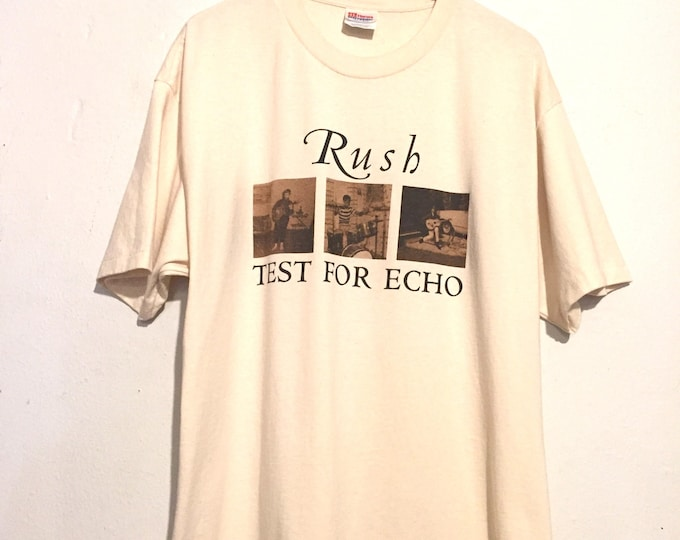 Rush Test For Echo 1996-1997 Tour Tee