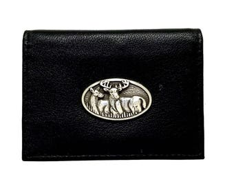 Deer Hunting Business Card Case