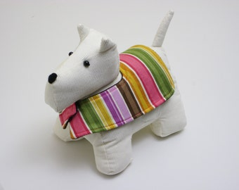 Pattern: Sewn Dog Doorstop