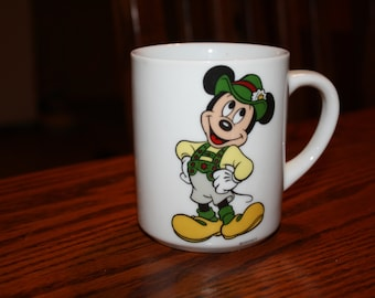 Vintage Mickey Mouse Mug made by Reutter Porzellan in W. Germany