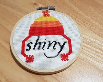 Shiny Firefly Cross Stitch