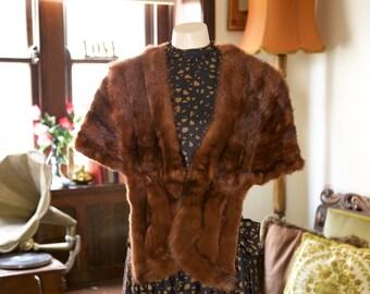 1950's Fur stole