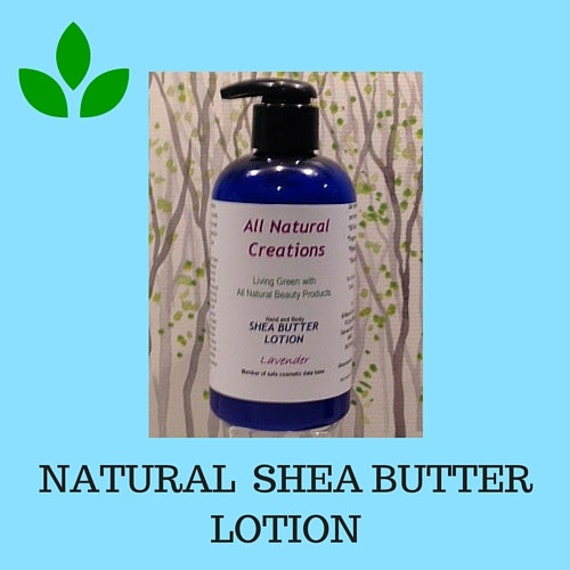Natural  Shea Butter Lotion