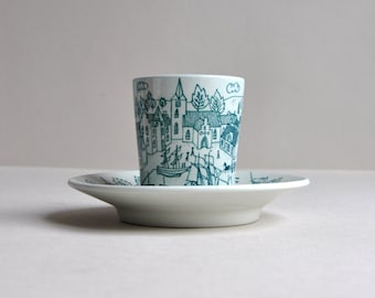 Nymolle Hoyrup Viking Cup & Dish - Made in Denmark