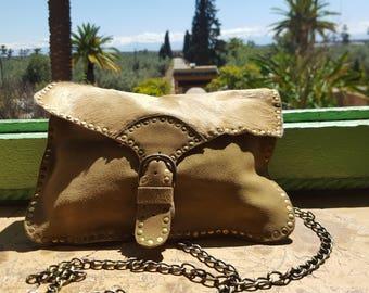 Sand Studded Evening Bag