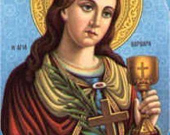 Saint Barbara Oil Wicca Pagan Spirituality Religion Ceremonies Hoodoo Metaphysical MaidenMotherCrone