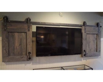 Merveilleux Custom Barn Door TV Covers  Price Per Tv Door.