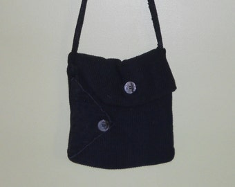 Recycled leisure pants purse