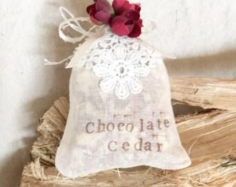 Chocolate Cedar Sachet
