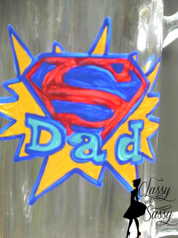 Super Dad -Beer Mug