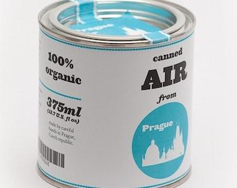 Original Canned Air From Prague, gag souvenir, gift, memorabilia