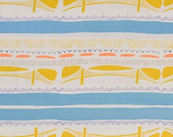 SALE - Brooklyn Bridge Glare Art Gallery Gramercy Leah Duncan 100% cotton fabric *free shipping*