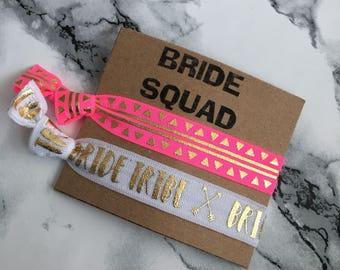 Bride Squad Hair Ties