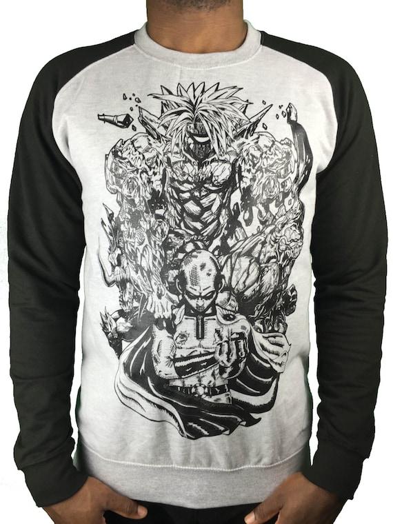 One Punch Man hoodie anime/ manga Saitama premium sweatshirt OXIfPJL9